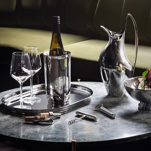 Georg Jensen – Manhattan Weinverschluss aus Edelstahl