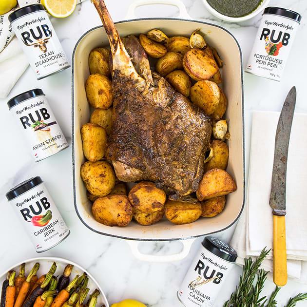 Cape Herb & Spice Rub Carribean Jerk – BBQ-Gewürz aus Südafrika