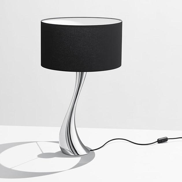 Elegante Cobra Tischleuchte von Georg Jensen