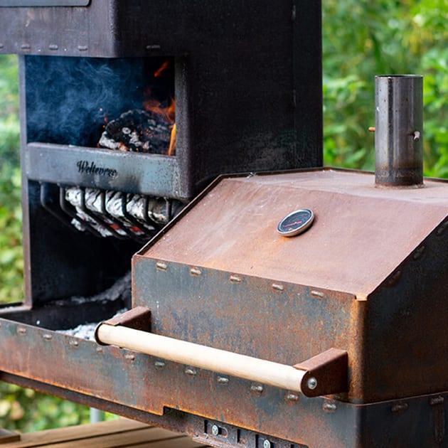 Outdoor-Ofen XL von Weltevree zum Kochen und Wärmen allzeit bereit