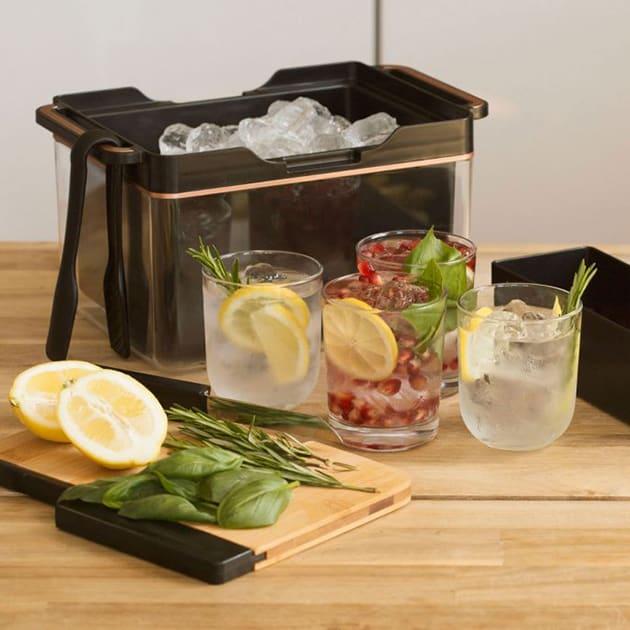 Tragbare Cocktailbar und Gin-Station für unterwegs