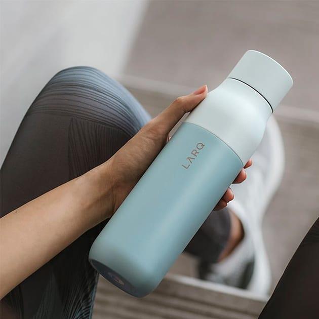 LARQ Bottle die erste selbstreinigende Wasserflasche durch UV-Licht