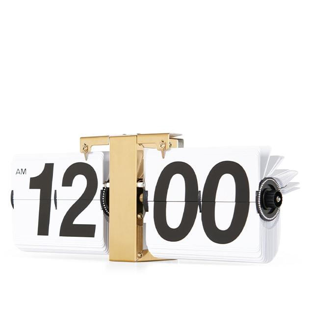 Retro Flip Uhr von Made für Wand und Tisch