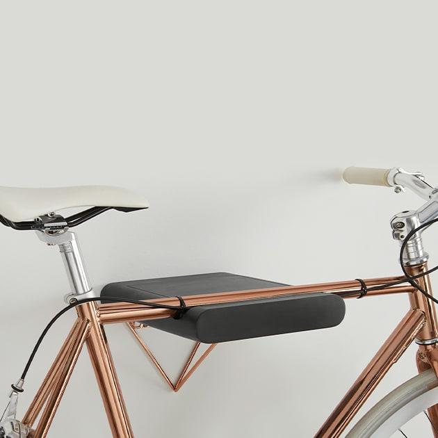 Dayde Fahrrad Wandhalter im glänzenden Kupfer-Look