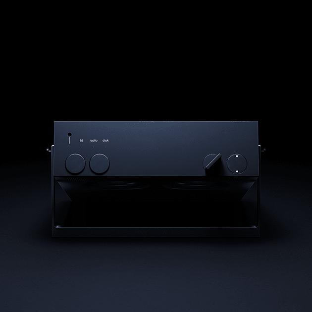 Das OB-4 Magic Radio mit motorisiertem User Interface