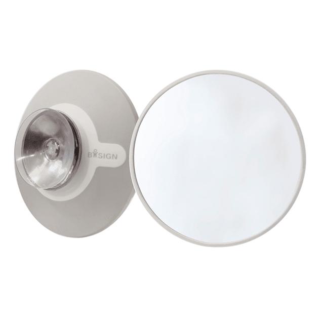 Bosign Make-Up Spiegel mit Saugstopfen zum Andocken an glatten Oberflächen