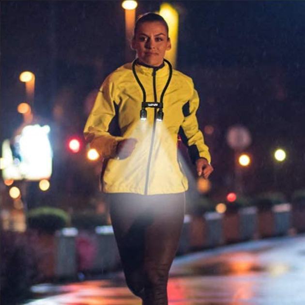 Flexible LED Halslampe mit USB-Anschluss zum lesen, arbeiten, joggen …