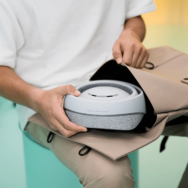Faltbarer FahrradhelmClosca Helmet Loop mit NFC-Chip