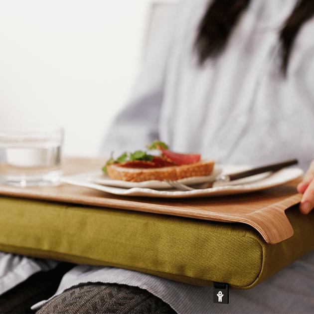 Laptray – Anti-Rutsch Tablett für Laptop, Frühstück, Abendessen