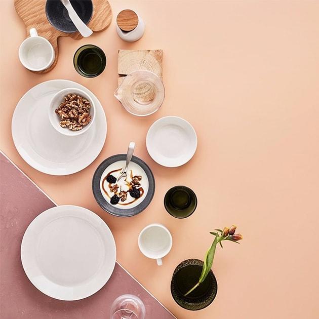 Starterset von Iittala – Teema dezentes Geschirrset in Weiß
