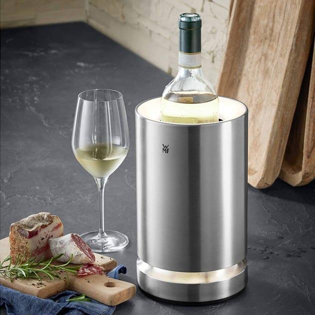 Beleuchteter WMF Ambient Flaschenkühler für Sekt- und Wein