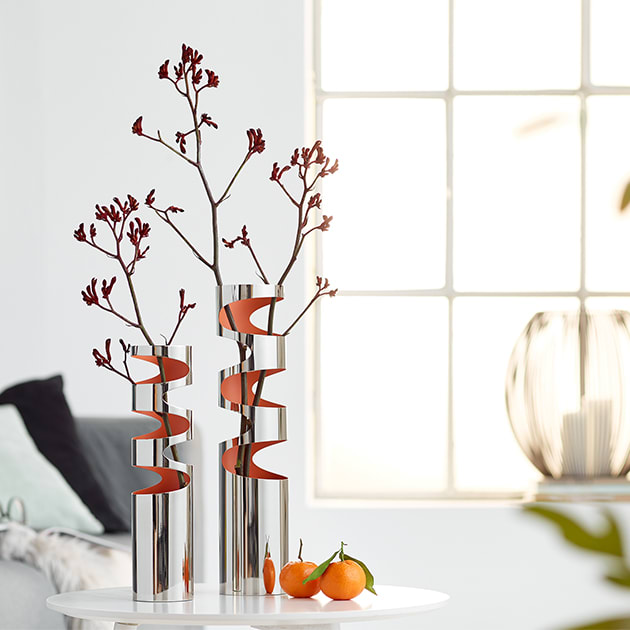Loom Vase in Retrooptik