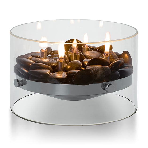 Fire Tischkamin aus Edelstahl für eine besondere Atmosphäre