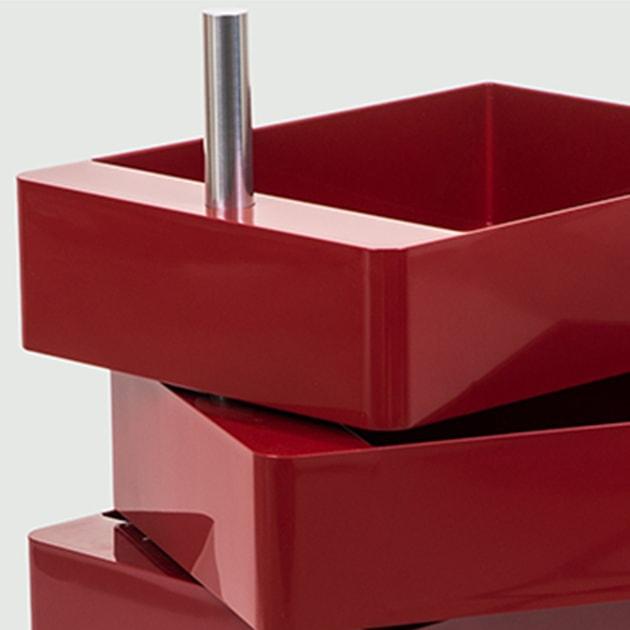 360° Schubkasten-Container für dynamisches Arbeiten von Magis