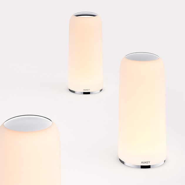 Berührungssensitive AUKEY LT-T7R Tischlampe – erzeugt Stimmungen per Touch