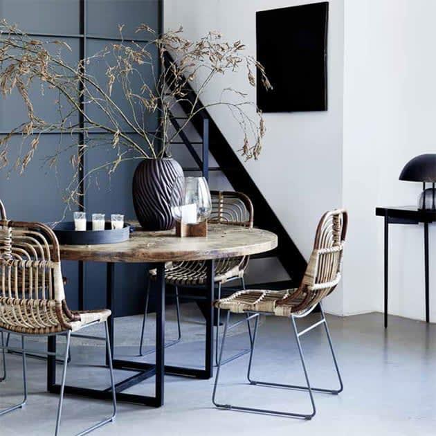 Stylischer Kawa Rattan-Stuhl von House Doctor