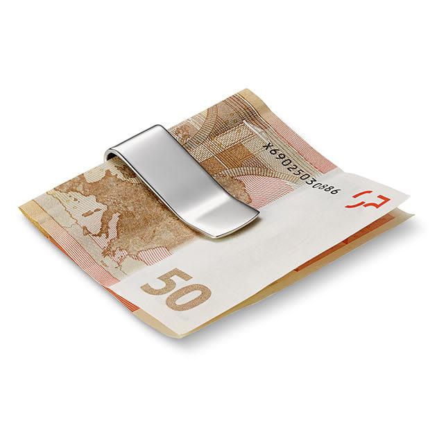 Hap Geldscheinklammer in Silber