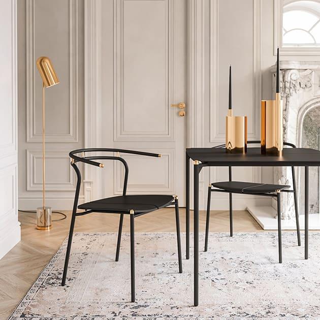 Novo Stuhl von AYTM für Innen- und Außenbereich