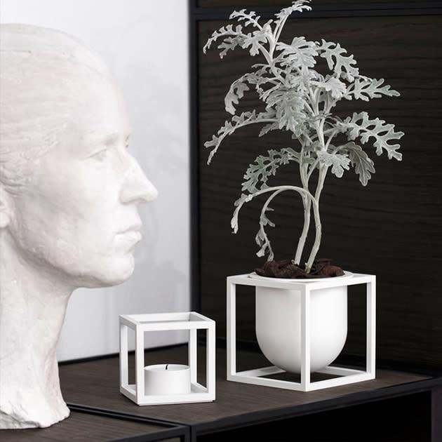 Kubus Flowerpot von by Lassen – Kräutertopf, Vase und mehr