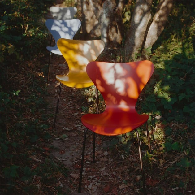 Series 7 Stuhl – eine Ikone der modernen Möbelgeschichte von Fritz Hansen