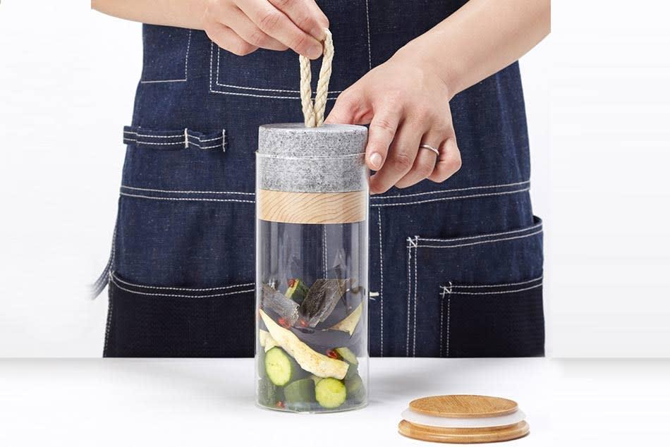 Picklestone ein schöner Platz für das Tsukemono, ein japanisches Gemüse Pickles
