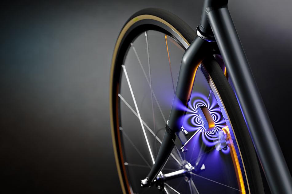 Das Arara Fahrradlicht, benötigt keine Batterien oder Dynamo