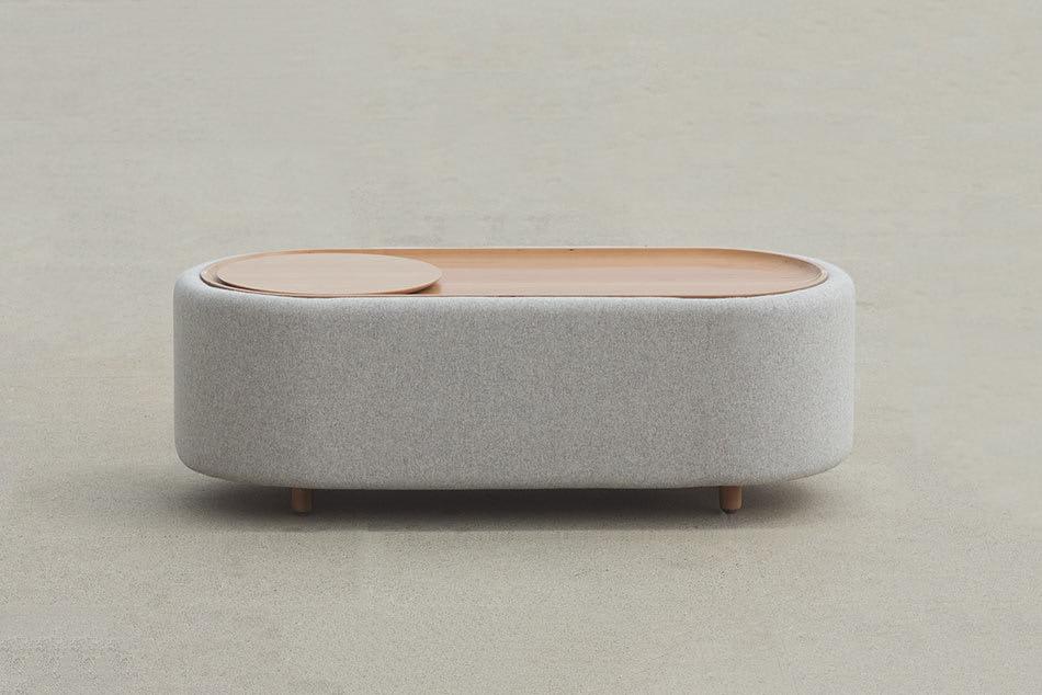Lofe Round Couchtisch – perfekte Balance zwischen Form, Masse und Material