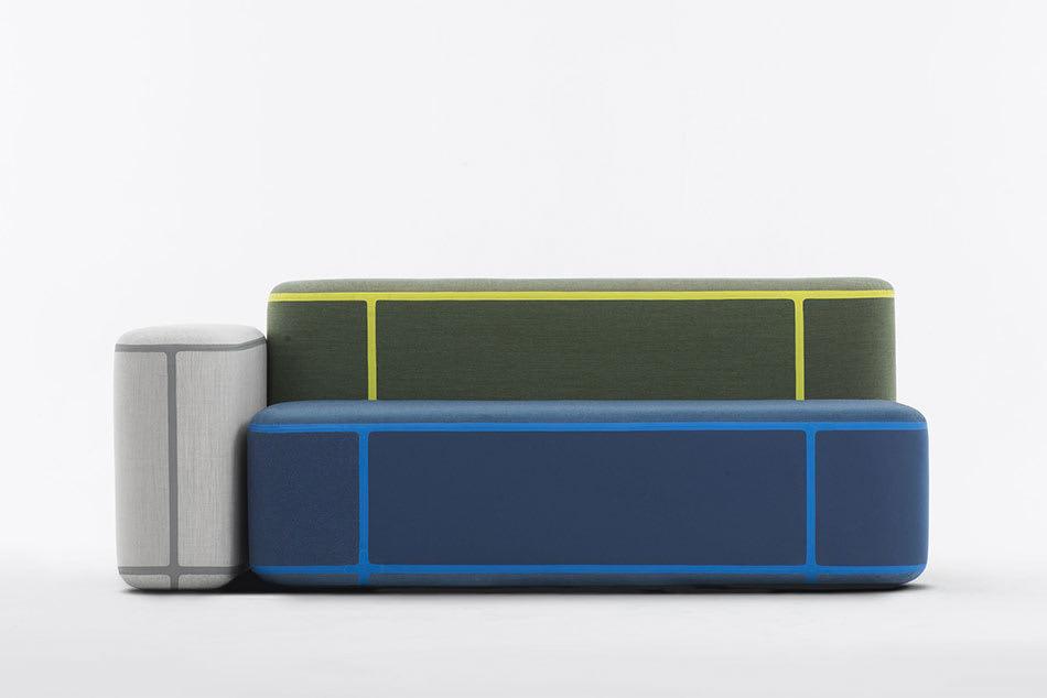 Benjamin Huberts neue innovative modulare Sitzgruppen für Moroso