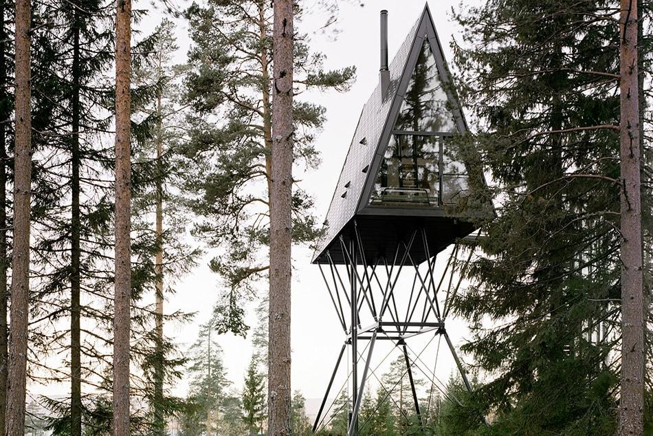 PAN Treetop Cabins – Norwegens schwebende Waldhütten mit unglaublichem Ausblick