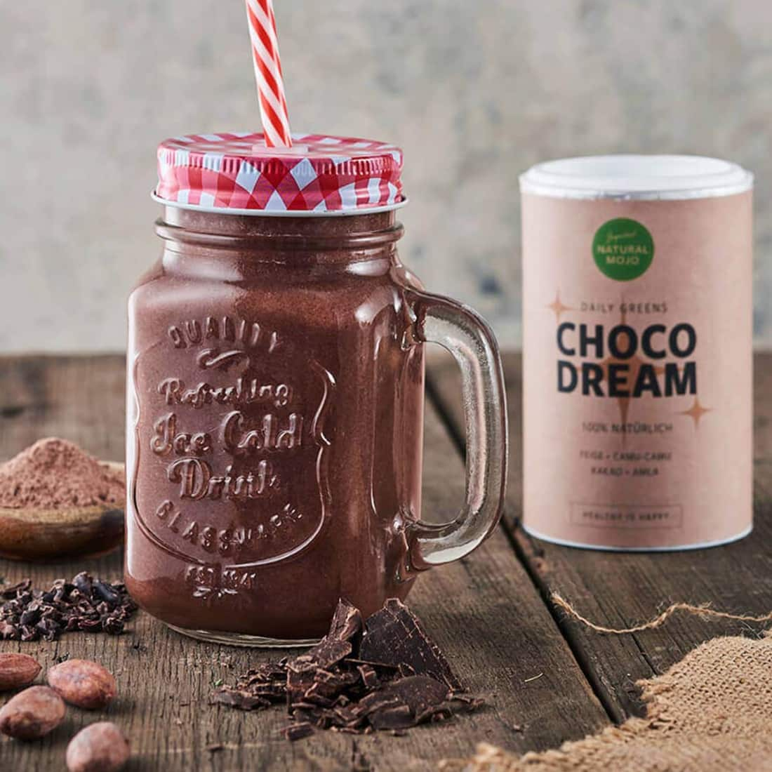 Natural Mojo Kakao ohne schlechtes Gewissen