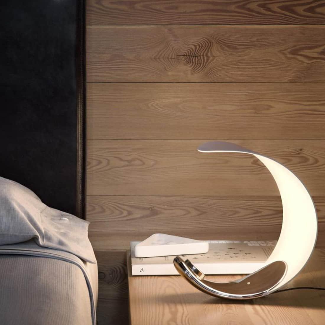 Luceplan Curl Tavolo LED Tischleuchte