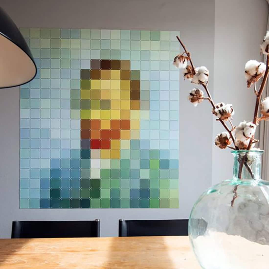 IXXI Wanddekoration Pixelbilder