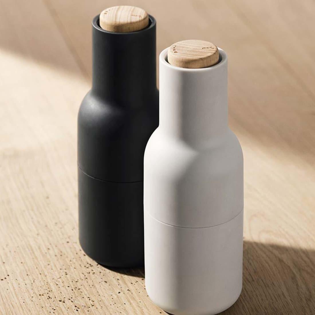 Menu – Bottle Salz- und Pfeffermühlen Set