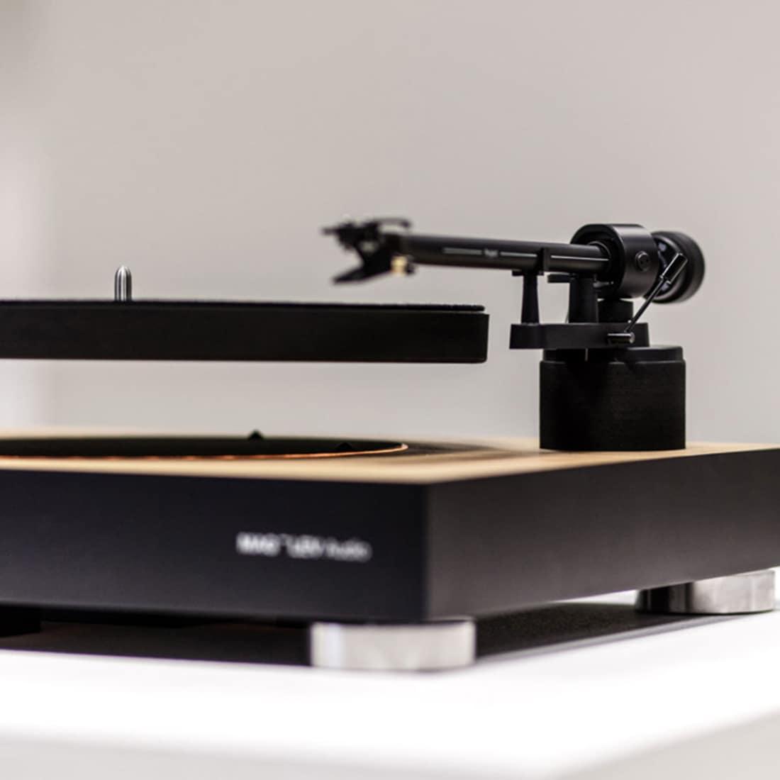 Der schwebende Plattenspieler von MAG-LEV Audio