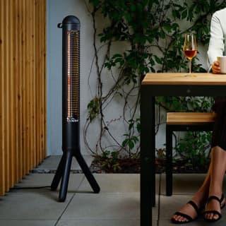 Eva Solo 'HeatUp' CO2 freundlicher elektrischer Terassenwärmer im dezenten Design