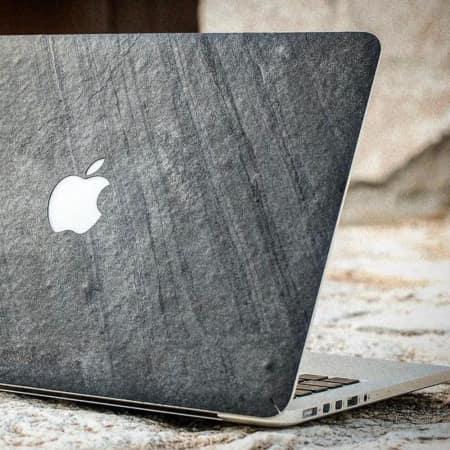 MacBook Hülle aus echtem Stein