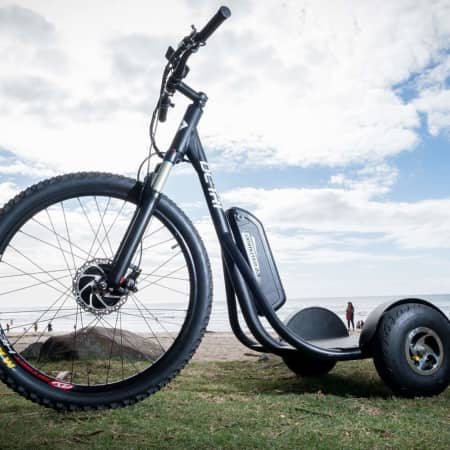 DC-Tri Rad: Stand-up E-Bike