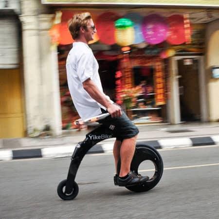 YikeBike Faltbares E-Bike