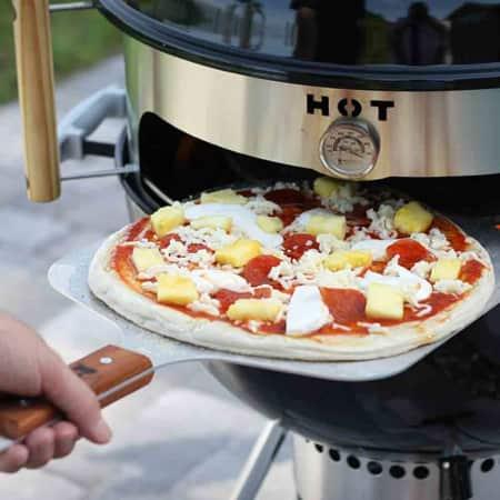 Kettlepizza Pizzaring für Kugelgrills