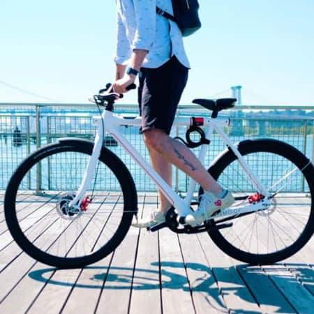 Cooles innovatives City E-Bike von VanMoof