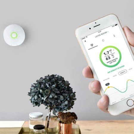 Wave Plus – intelligenter Innenraumklimamonitor mit Radonsensor und mehr