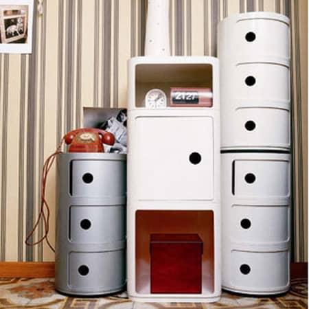 Kartell Componibili – Container Stauraum und Designklassiker von Anna Castelli Ferrieri