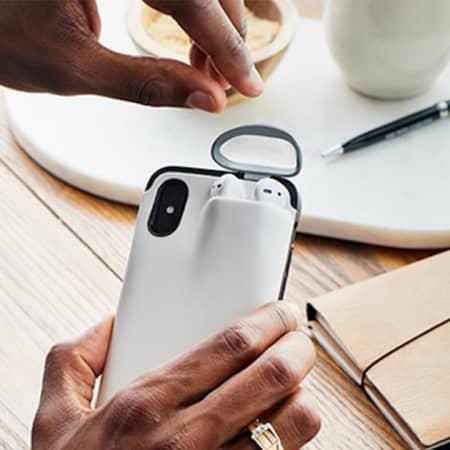 iPhone / AirPods case & Powerbank – stets einsatzbereit