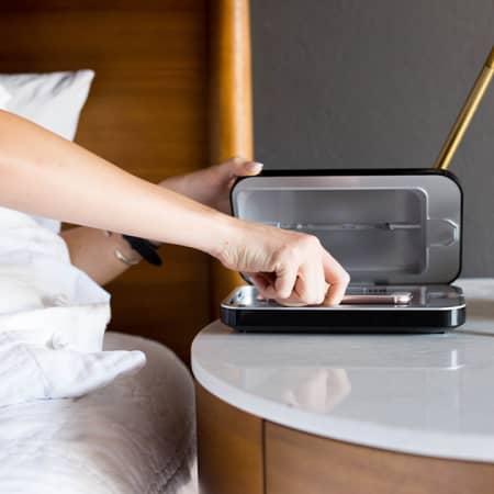 Phone Soap – Handy-Reinigung durch UV-Strahlung & Ladegerät