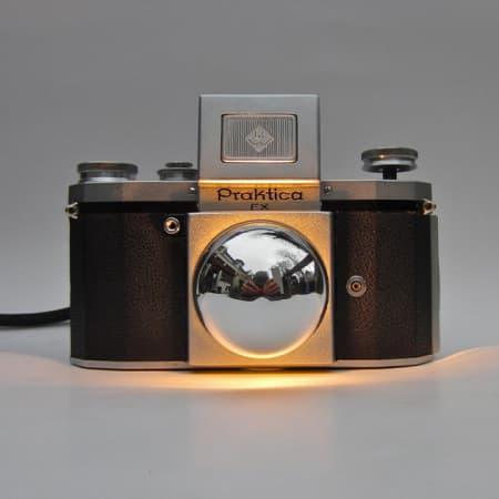 Spiegelreflexkamera Lampe – Praktica FX