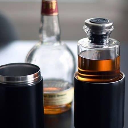 Reise Dekantierer für Wein, Whisky und Cocktails