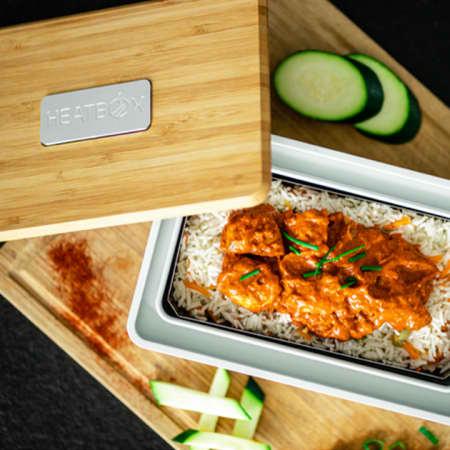 Heatbox – die selbstaufwärmende, smarte Lunchbox