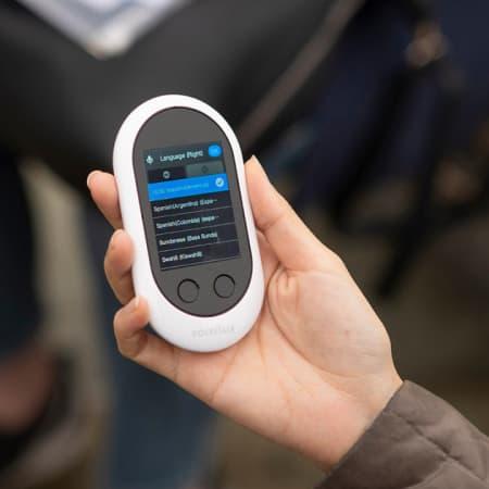 Pocketalk – Echtzeitübersetzer für überall unterwegs