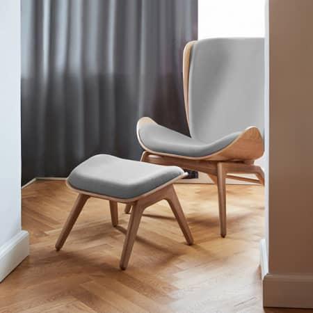 Reader Sessel von Umage – Außergewönlicher Lesesessel mit hoher Lehne für entspannte Momente