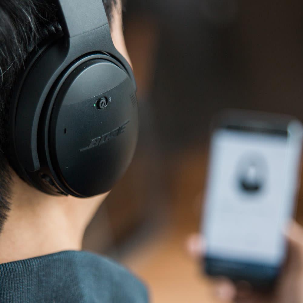 Bose QuietComfort 35 kabellose Kopfhörer